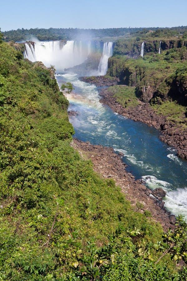 argentina Brazil jaru spadek iguassu zdjęcia royalty free