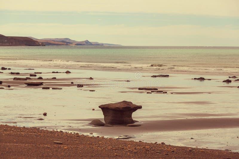 Argentina coast royalty free stock image