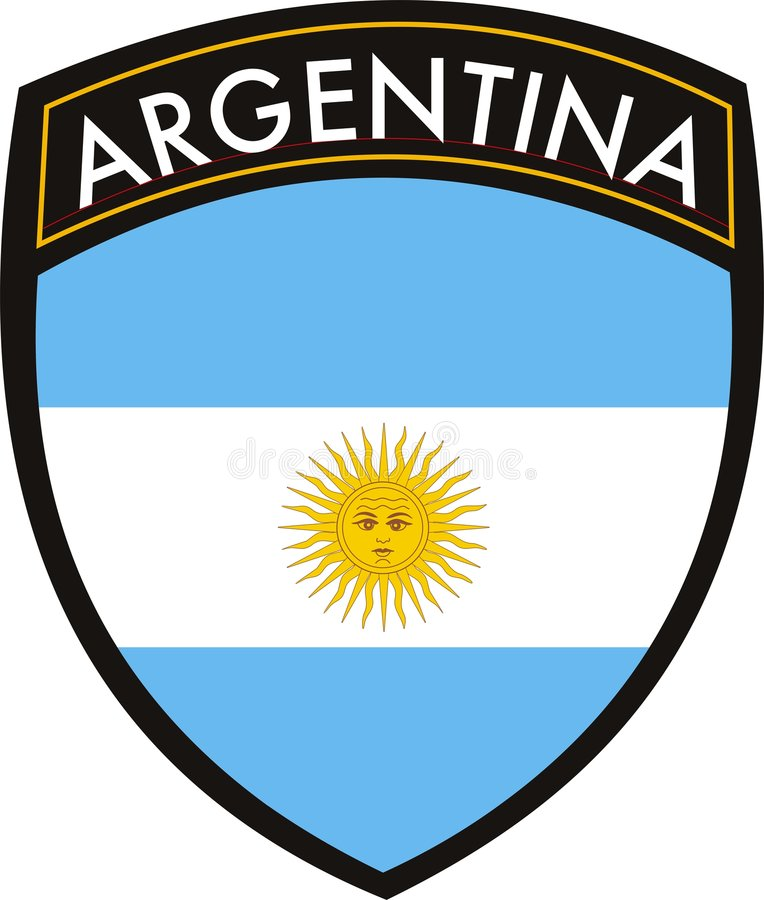 argentina crest stock vector illustration of argentina 7107654 rh dreamstime com crest vector image crest vector and meaning