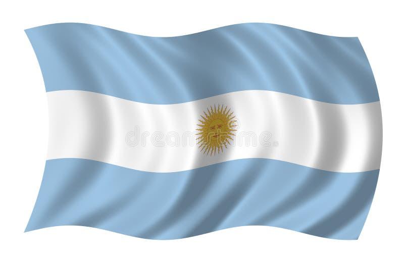 Argentina Flag Royalty Free Stock Photo