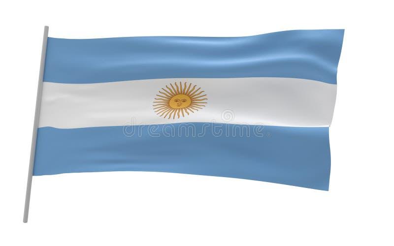 argentina flag? ilustracja wektor