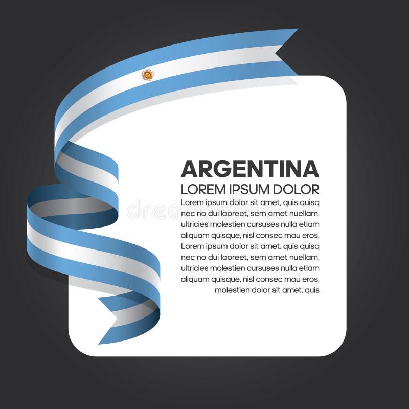 Argentina flaggabakgrund vektor illustrationer