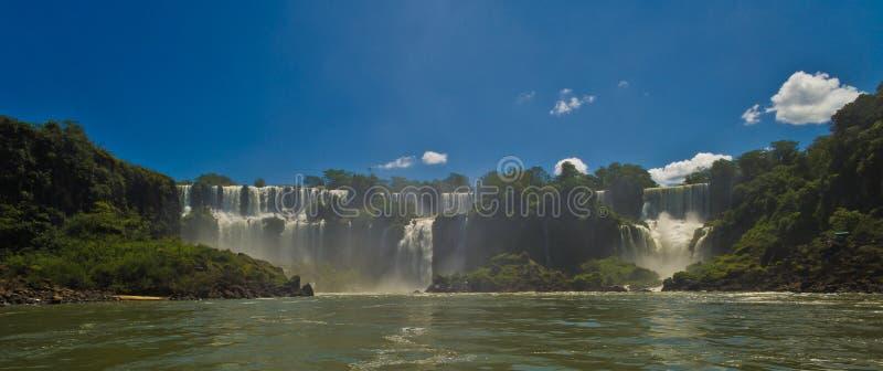 argentina iguazuvattenfall arkivfoton
