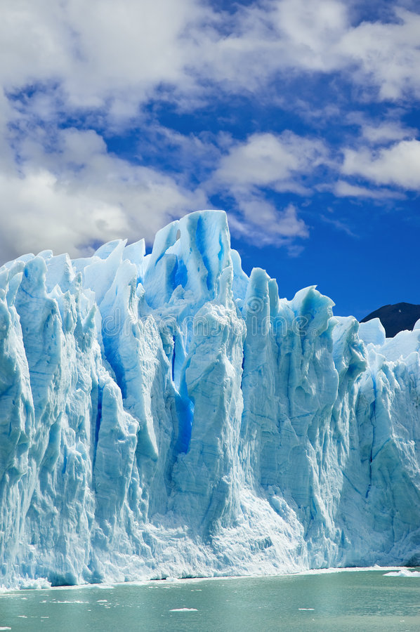 argentina lodowa Moreno patagonia zdjęcia stock