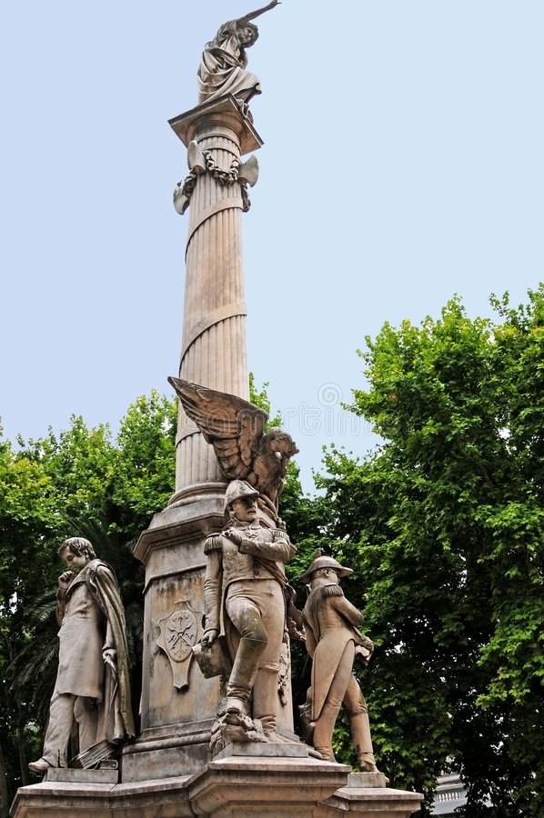Argentina monument royalty free stock photography