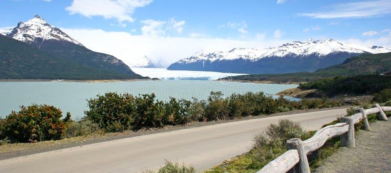 argentina południa krajobrazu patagonii fotografia stock