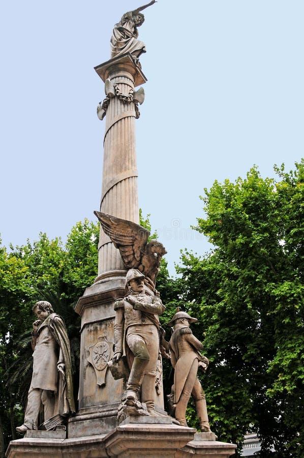 argentina pomnik fotografia royalty free
