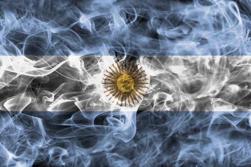 Argentina rökflagga stock illustrationer
