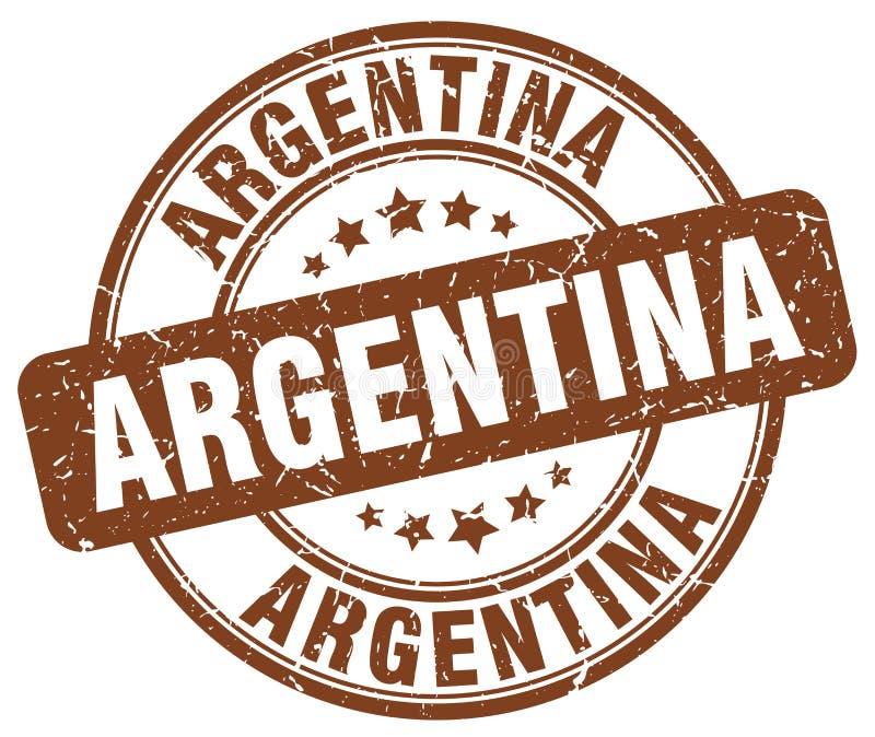 Argentina stamp royalty free illustration