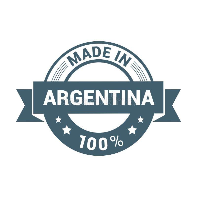 Argentina stamp design vector vector illustration