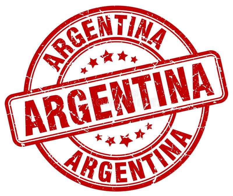 Argentina stamp. Argentina round grunge stamp isolated on white background. Argentina vector illustration
