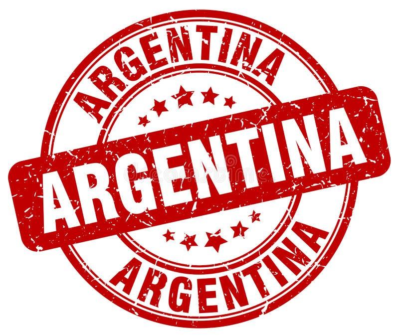 Argentina stamp. Argentina round grunge stamp isolated on white background. Argentina stock illustration