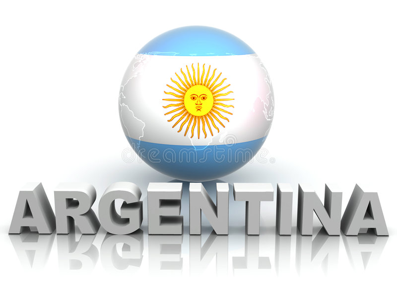 argentina symbol ilustracji