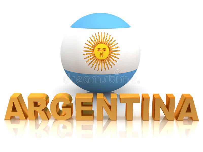 argentina symbol vektor illustrationer