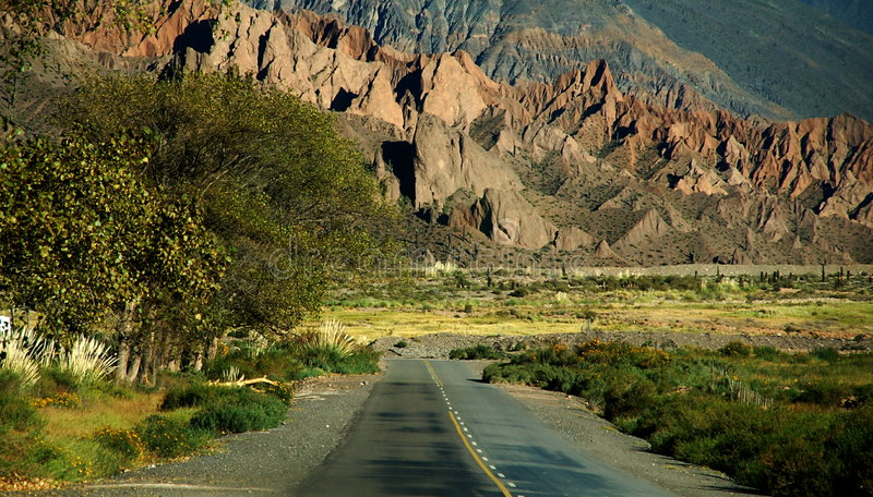 Download Argentina Travelling: On The Road Again Stock Image - Image: 4595023