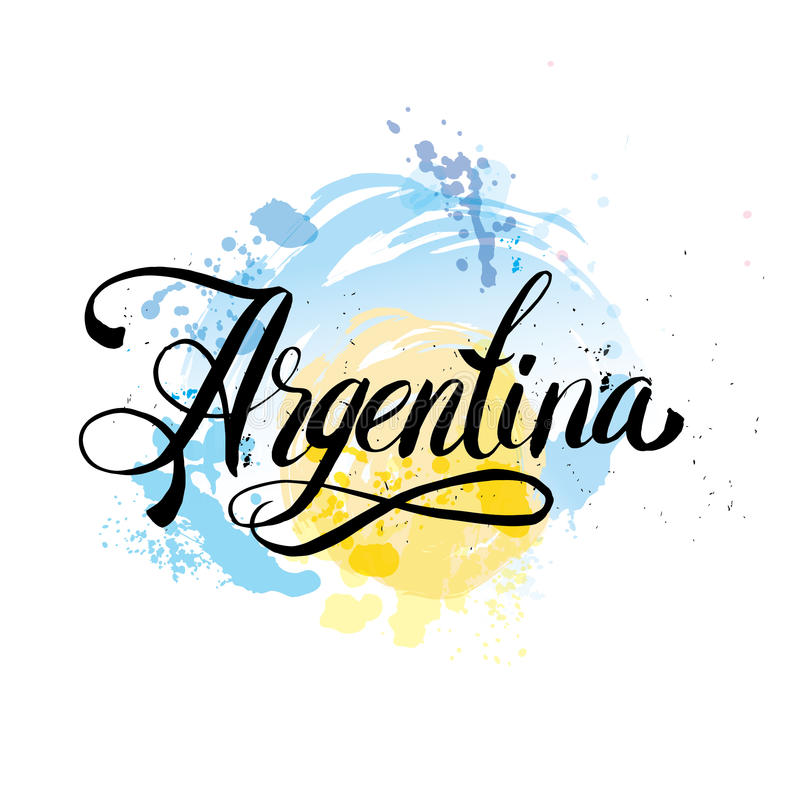 Argentina Flag Vector Eps
