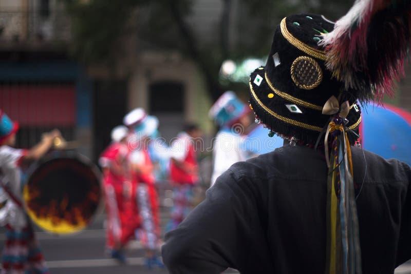 Argentinan karneval royaltyfria bilder