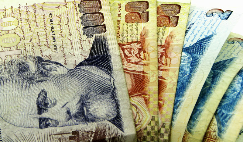 Download Argentine money stock image. Image of bill, business, bills - 5550415