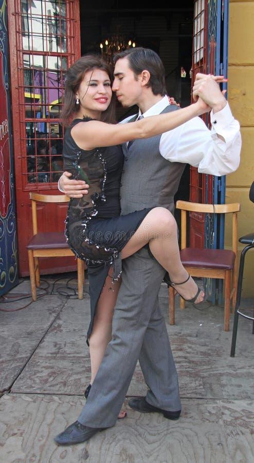 Argentine tango in Buenos Aires stock photos
