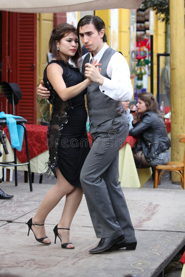 Free Argentine Tango In Buenos Aires Royalty Free Stock Photography - 53294147