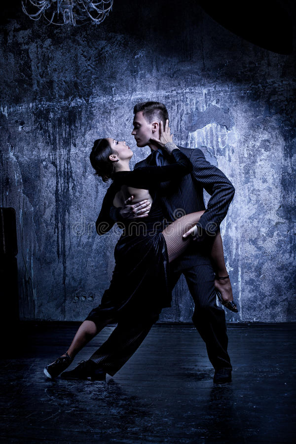 Argentine tango stock photo