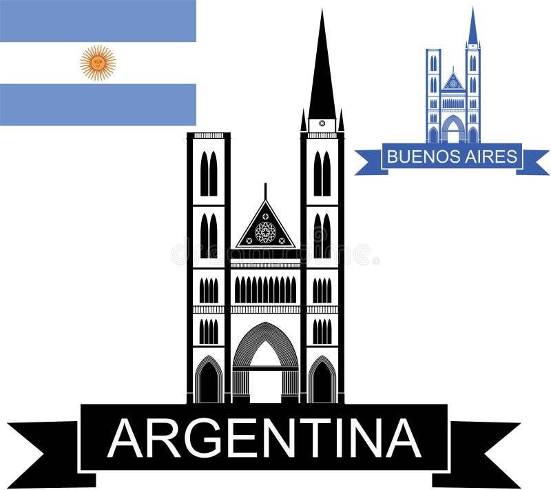 argentinië vector illustratie