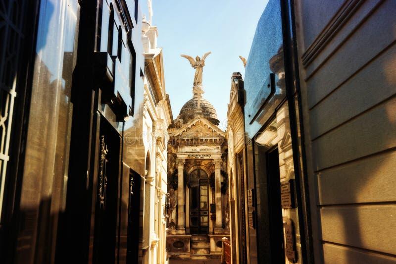 Argentinië, Buenos aires, de Begraafplaats van La Recoleta stock foto's