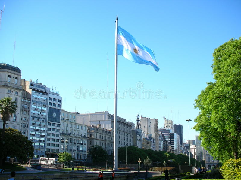 Download Argentinian flag flapping editorial photography. Image of south - 34710477