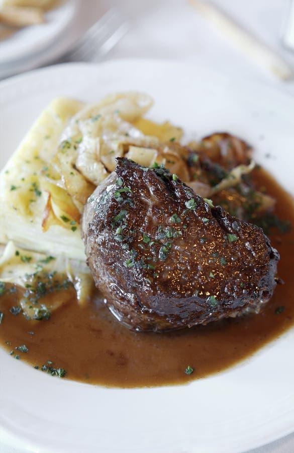 argentinian steak royaltyfri foto