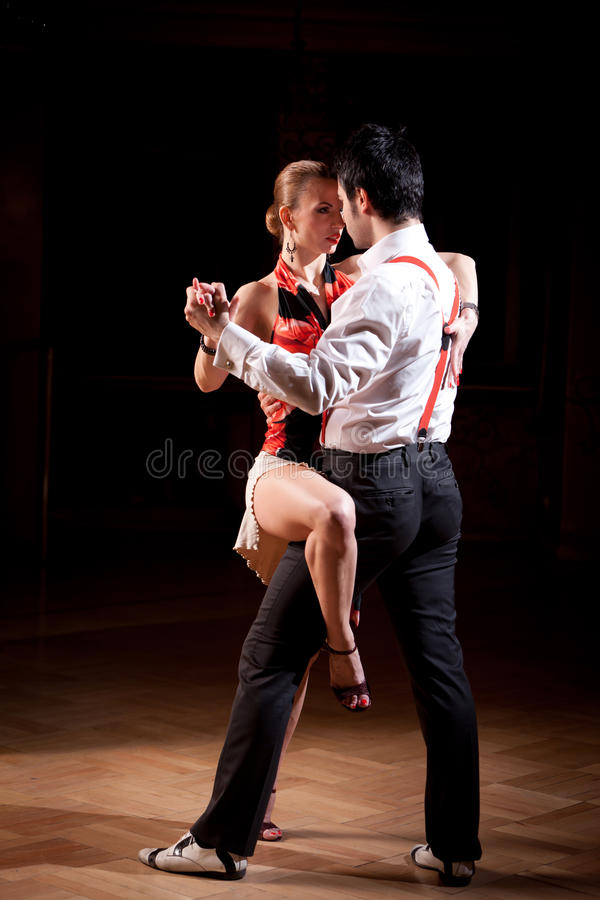 Argentinian Tango Dance stock photos