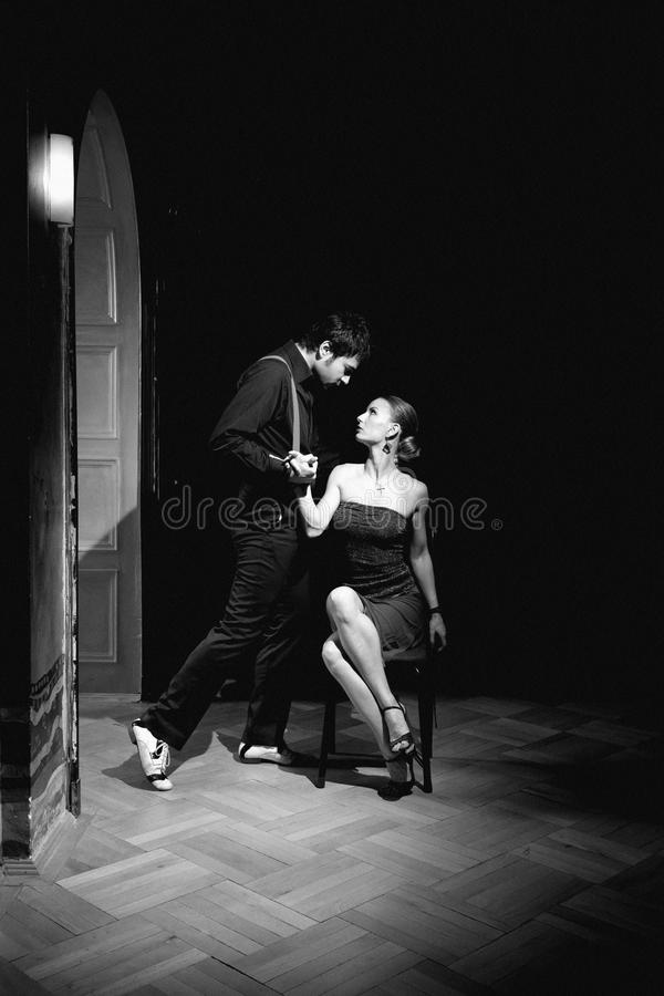 Argentinian Tango Dance stock photo