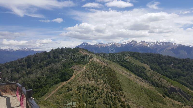 Argentinien-bariloche Landschaft lizenzfreies stockfoto