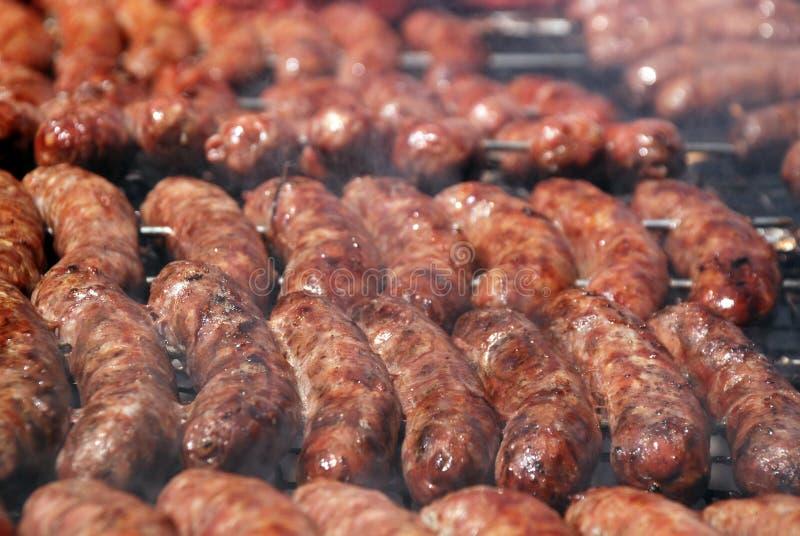 Argentinische Grillwürste lizenzfreie stockfotografie