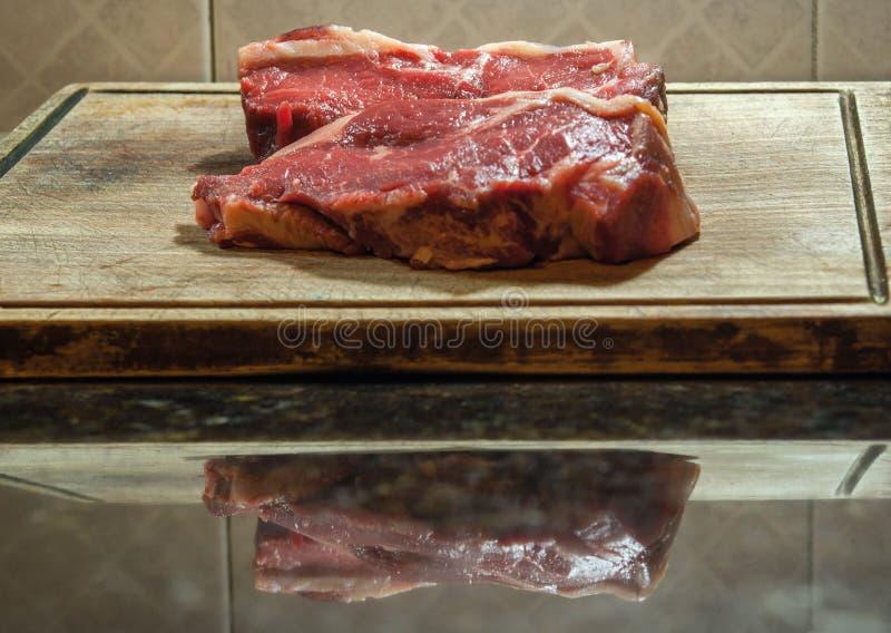 Argentinisches Steak Typisches Argentinien-asado stockbild