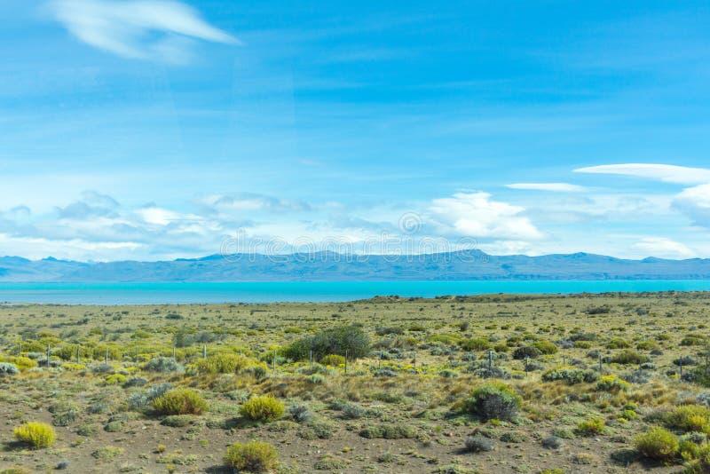 Argentino Lake, Gr Calafate, Patagonië, Argentinië stock foto