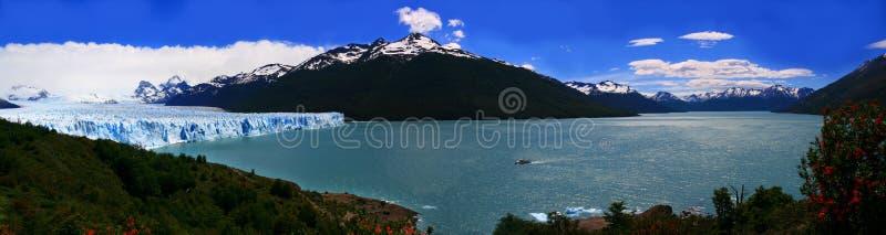 argentino lodowa lago Moreno panoramiczny perito obraz royalty free