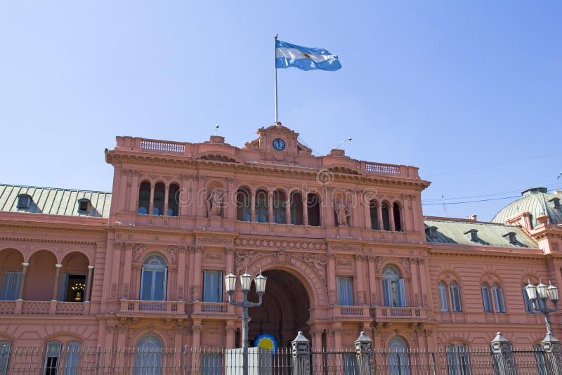 Argentinskt regerings- hus royaltyfri bild