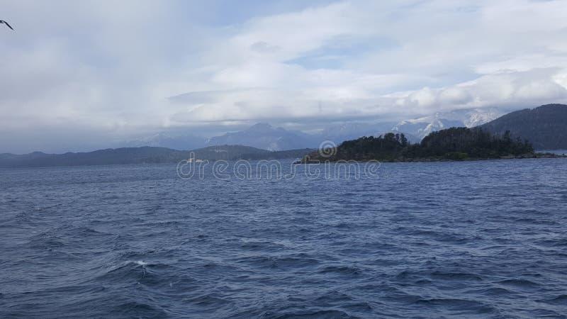Argentyna bariloche krajobraz zdjęcie stock