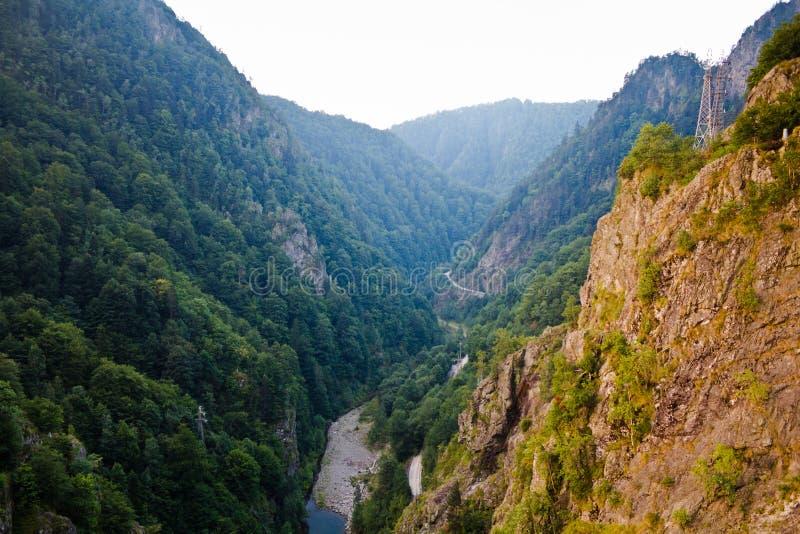 arges峡谷 库存照片