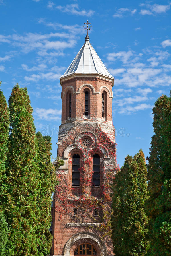 arges教会修道院 库存图片