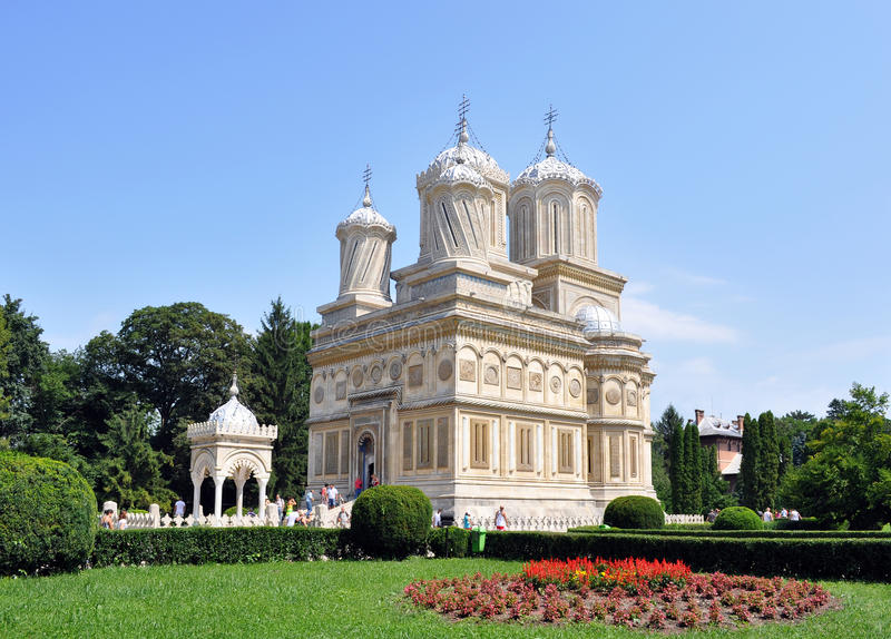 Arges Monastery stock image