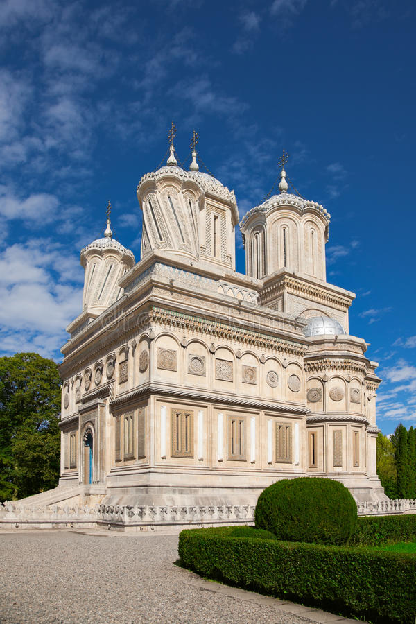 Arges Monastery royalty free stock photography