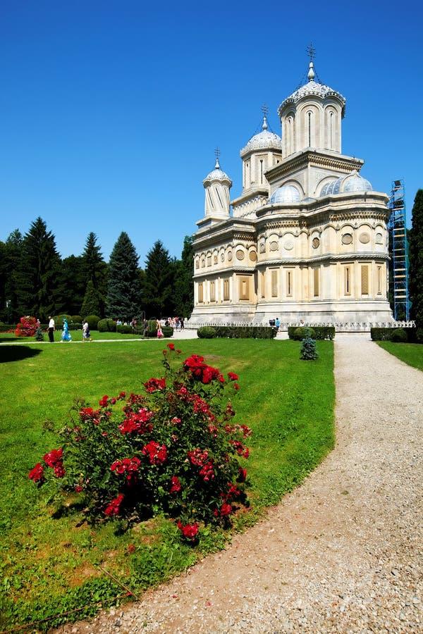 Arges Monastery, Romania royalty free stock photo