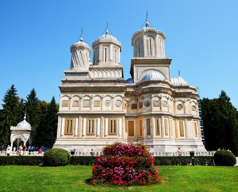 Arges Monastery, Romania royalty free stock photos