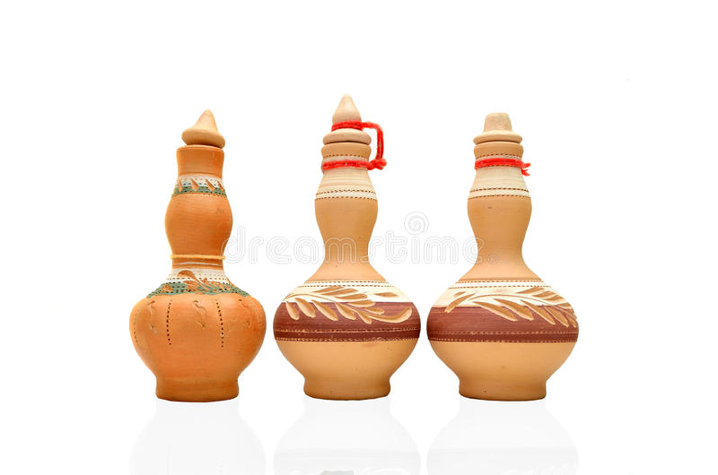 Argila asiática da cerâmica imagens de stock royalty free
