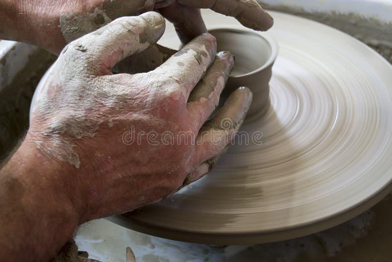 Argile Handcrafted image libre de droits