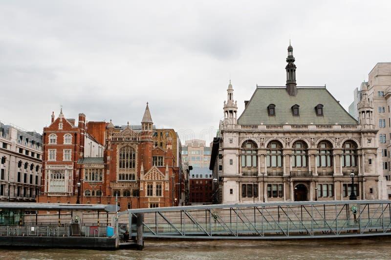 Argine della Victoria. Londra, Inghilterra fotografia stock libera da diritti