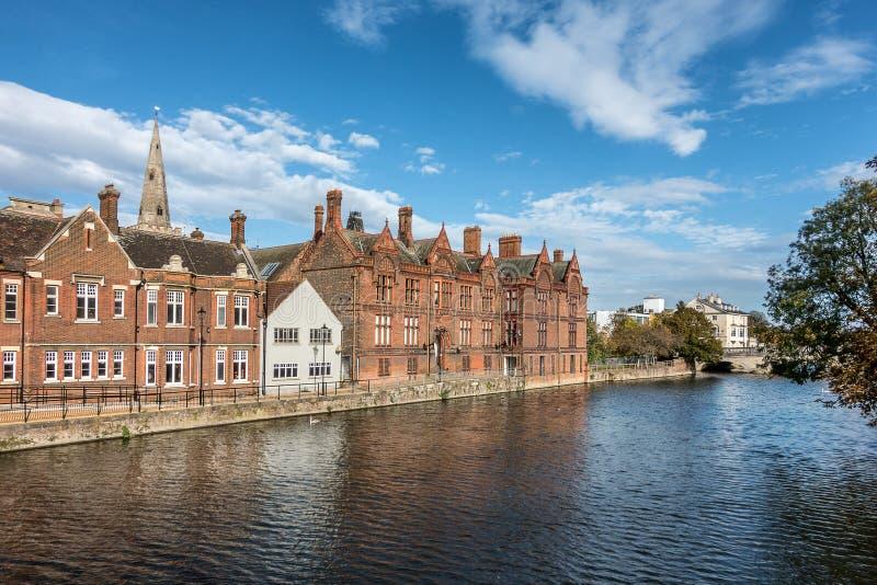 Argine di Bedford nel Regno Unito fotografia stock libera da diritti