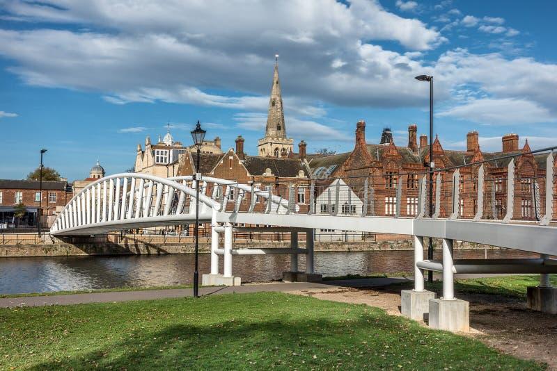 Argine di Bedford nel Regno Unito fotografie stock libere da diritti