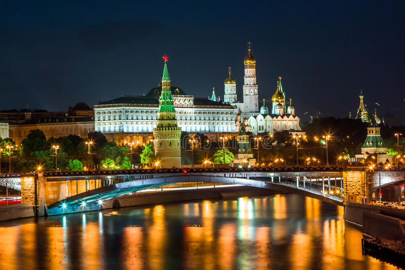 Argine di Kremlin immagini stock